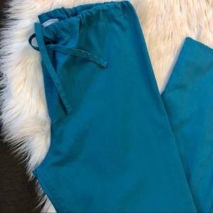 SB Scrubs Pants - [SB Scrubs] Unisex Teal Scub Pants